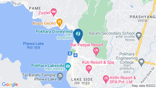 Lake Vision Guest House Map