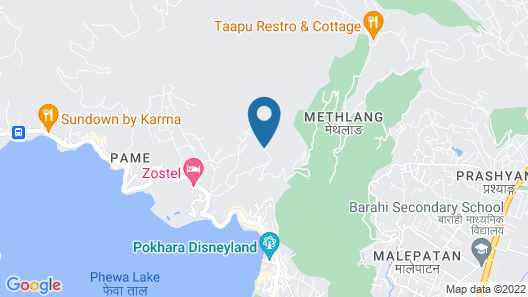 Pokhara Yoga School And Retreat Center Map