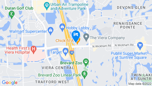 Holiday Inn Melbourne - Viera Conference Center Map