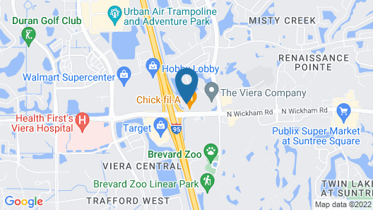 Holiday Inn Melbourne - Viera Conference Center, an IHG Hotel Map