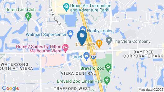 La Quinta Inn & Suites by Wyndham Melbourne Viera Map