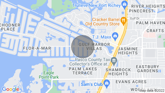 Free Pontoon Boat~Island Beach~Heated Pool Map