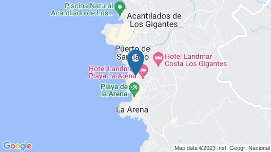 Arena Nest Hostel Map