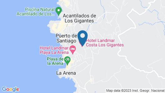 Landmar Costa los Gigantes Map