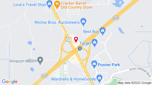 Holiday Inn Express Hotel & Suites Orlando South-Davenport, an IHG Hotel Map