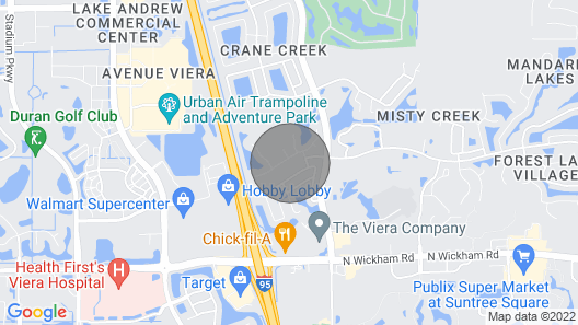 Urban Oasis W/hot Tub, Heated Pool and Private Movie Theater Map