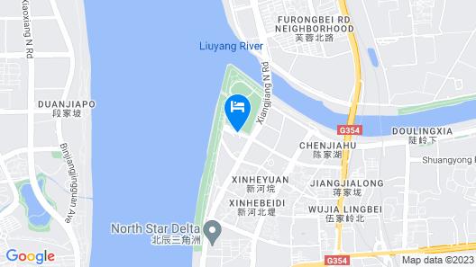 Intercontinental Changsha, an IHG Hotel Map