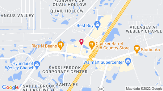 Sleep Inn Wesley Chapel - Tampa North Map