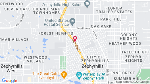 Roadstar Hotel Zephyrhills Map