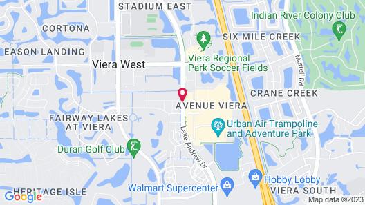 Fairfield Inn & Suites by Marriott Melbourne Viera Town Center Map
