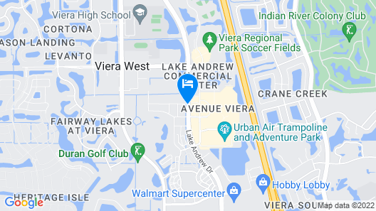 Fairfield Inn & Suites by Marriott Melbourne Viera Town Center Map