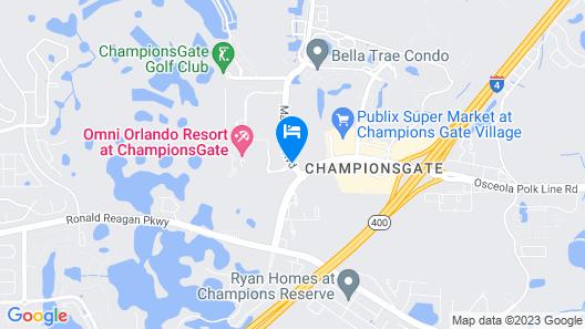 Omni Orlando Resort at ChampionsGate Map