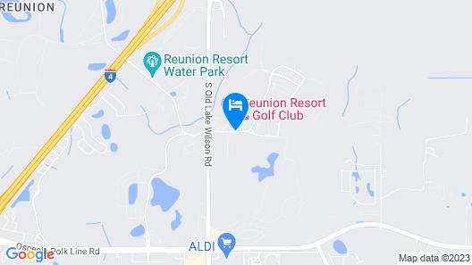Reunion Resort & Golf Club Map