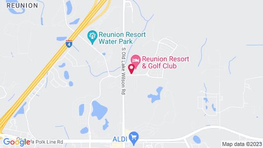 Club Wyndham Reunion Map
