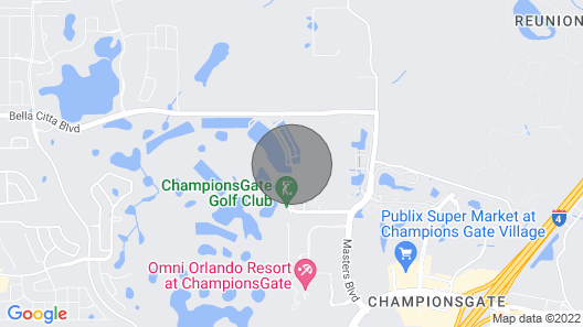Gorgeous Championsgate 3 Bedroom Town House Map