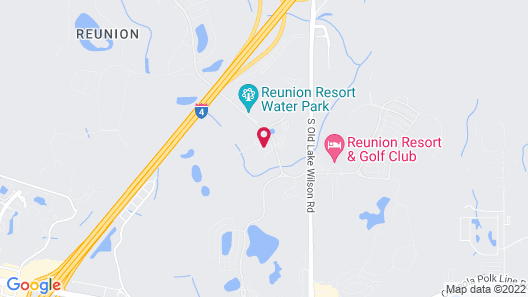Reunion Resort by Intteli Fun Rentals Map