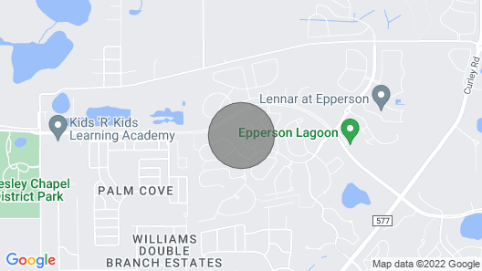 Gated community in Epperson Ranch Map