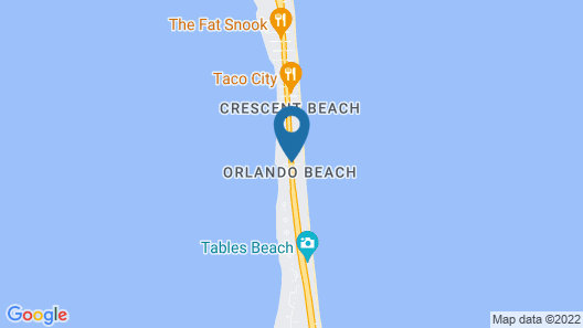 Anthony's on the Beach Map