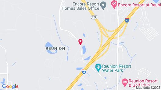 The Bear's Den Resort Orlando Map