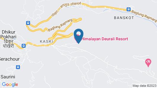 Himalayan Deurali Resort Map