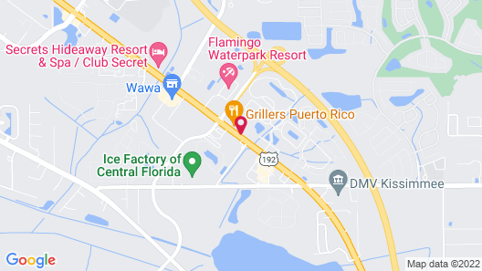 Stayable Suites Kissimmee Map