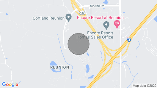 Real Reunion Home: Bowling Alley, Arcade, Home Theater, Themed Room, Near Disney Map
