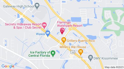 Flamingo Express Hotel Map