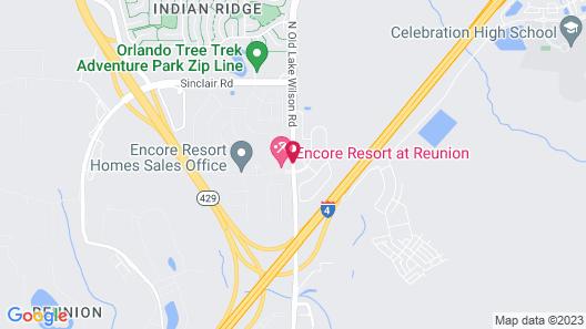 Encore Resort at Reunion Map