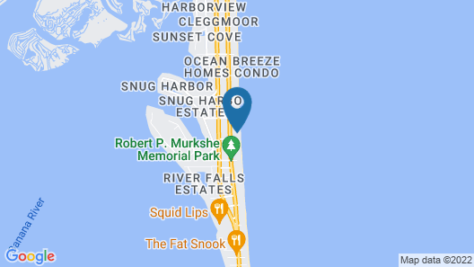 Coco Sands Beachside Cottages Map