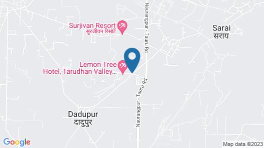 Lemon Tree Hotel Tarudhan Valley Map