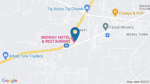 Midway Hotel & Resturant (RYK) Map