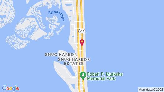 Beach Island Resort Map