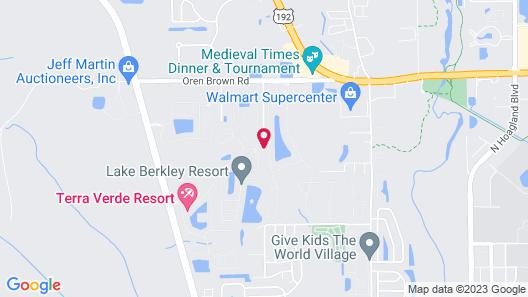 Hapimag Orlando at Lake Berkley Map