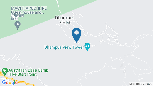 Dhaulagiri View Hotel Map