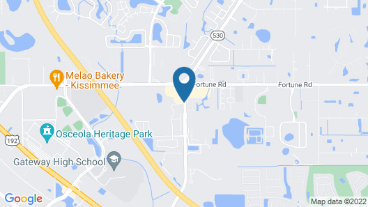 Villas at Fortune Place Map