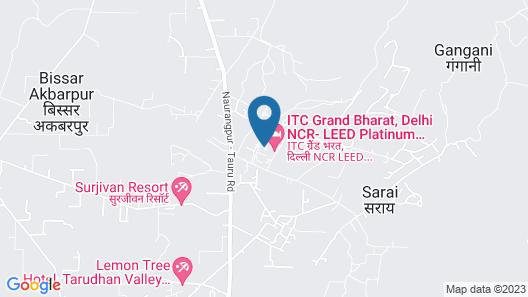 ITC Grand Bharat, a Luxury Collection Retreat, Gurgaon Map