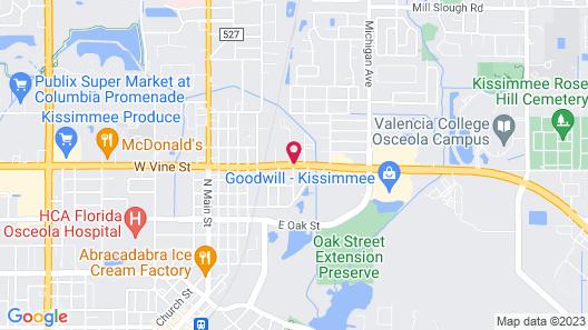 Flamingo Inn Map