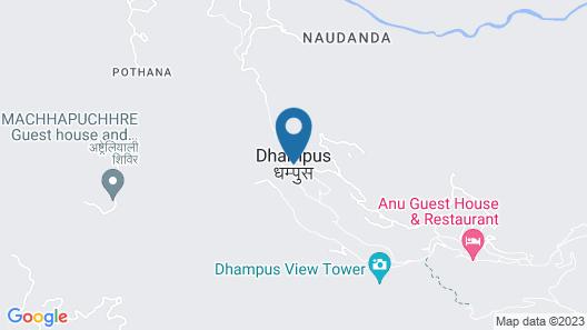 Dhampus Village Eco Lodge Map