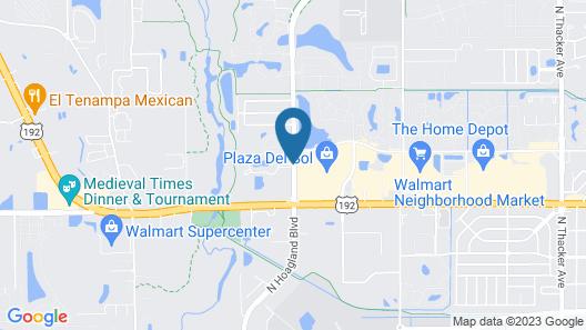 Oak Plantation Resort Map