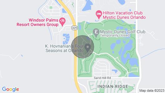 7924 Jacks Club - Arlington II 17th Hole Map