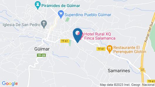 Hotel Rural Finca Salamanca Map