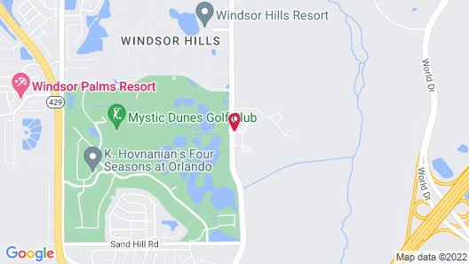 Festiva Orlando Resort Celebration a Ramada by Wyndham Map