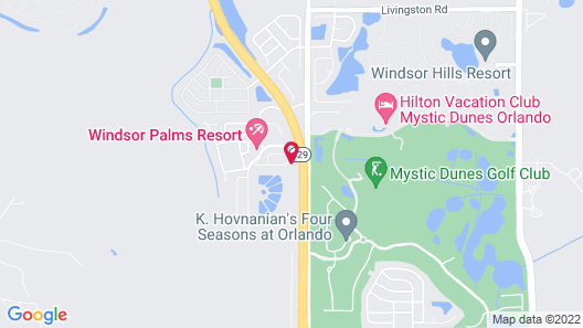 8017 Windsor Palms Resort Map