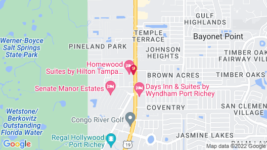 Homewood Suites by Hilton Tampa - Port Richey Map
