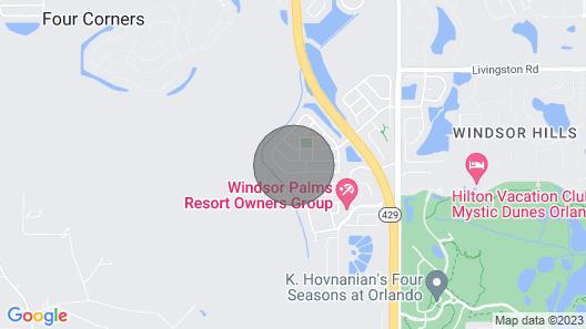 Daisy's Den - Five Bedroom Home Map