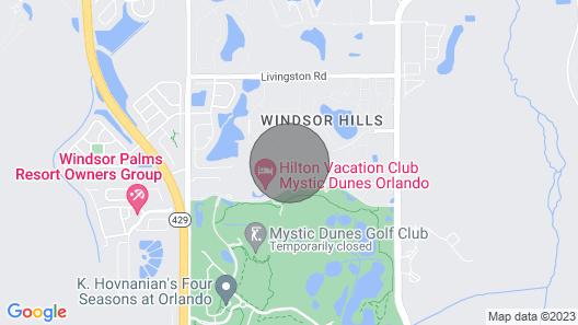 Windsor Hills Resort 2518 Map