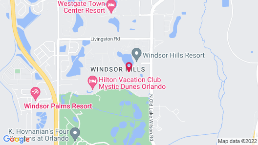 Windsor Hill Resort Map
