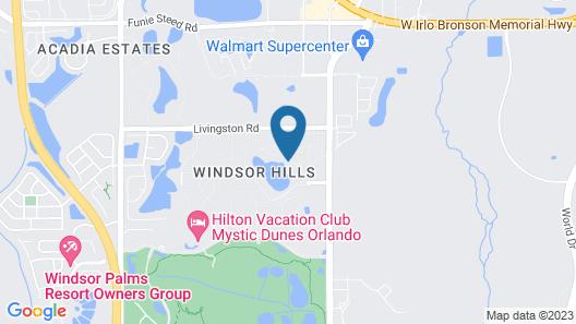7664 Windsor Hills Map