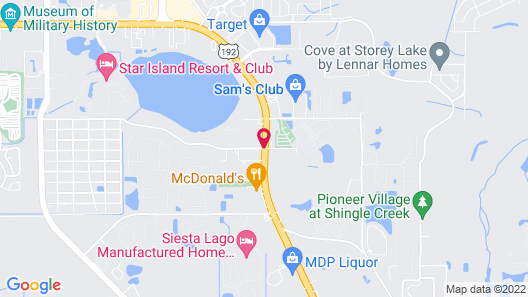 Seasons Florida Resort Map