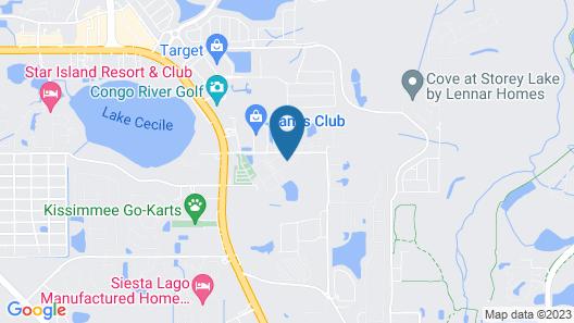Luxury 4BR townhome - Gated resort - Disney World Map